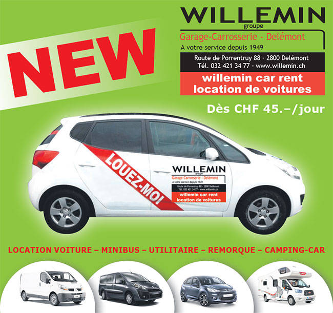 Willemin SA Car rent